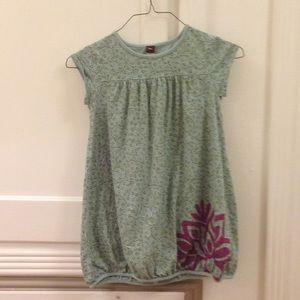 Green tea collection dress